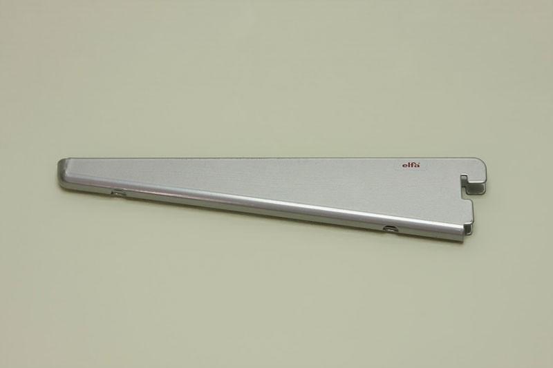 Опора для меламиновой полки 22 см, платина, Elfa® - фото