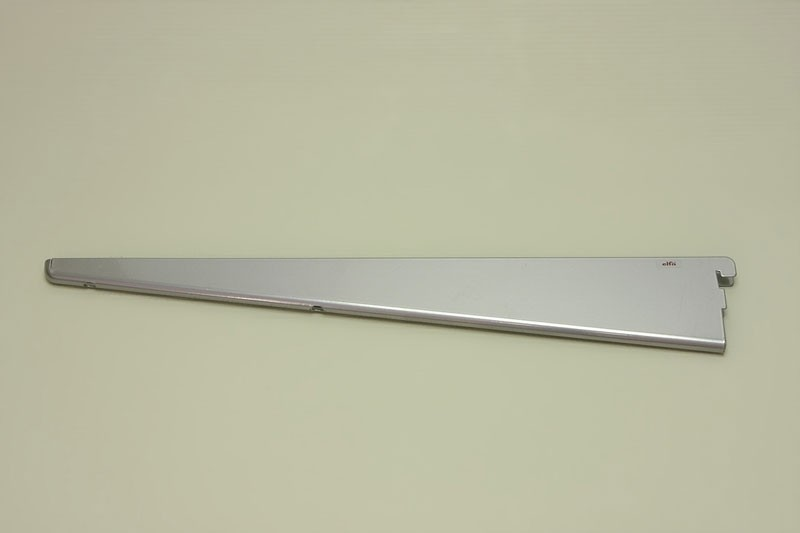 Опора для меламиновой полки 47 см, платина, Elfa® - фото