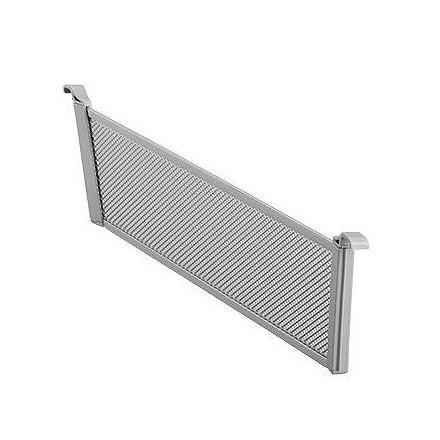 Разделитель для корзины платиновый Mesh 85 мм (2 шт/упак), Elfa® - фото