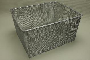 Меш-корзина 45 + 55 (мини), платина, Elfa® - фото