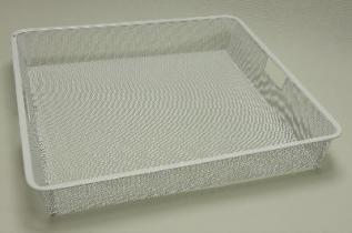Выдвижной ящик (корзина) Mesh, белый, Elfa® - фото