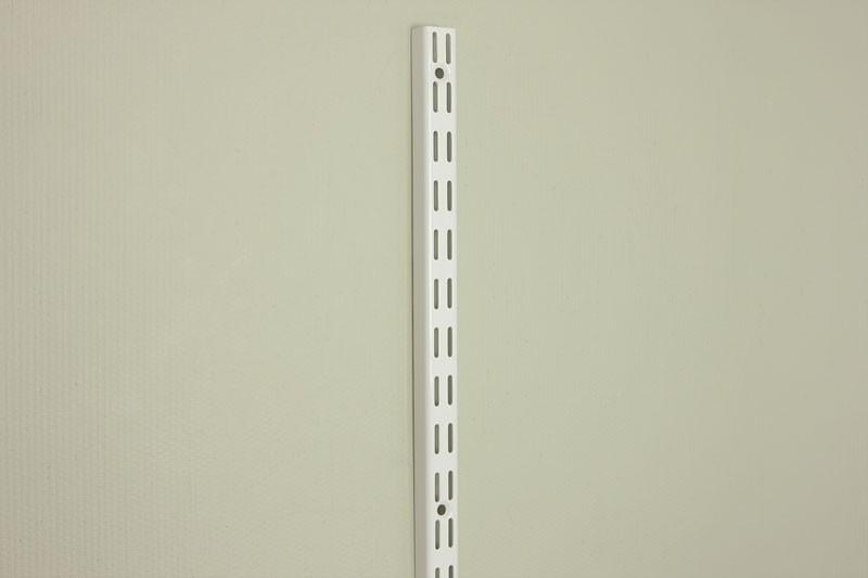 Настенная направляющая 240,0 см, белая, Elfa® - фото