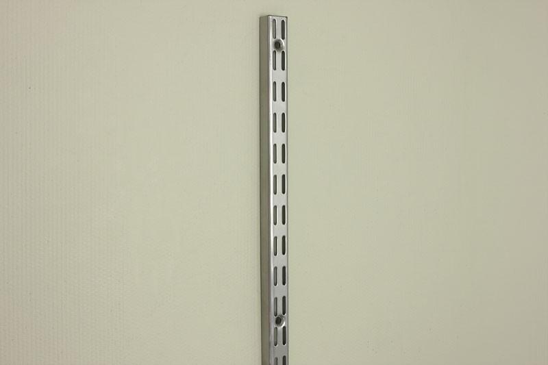 Настенная направляющая 240,0 см, платина, Elfa® - фото