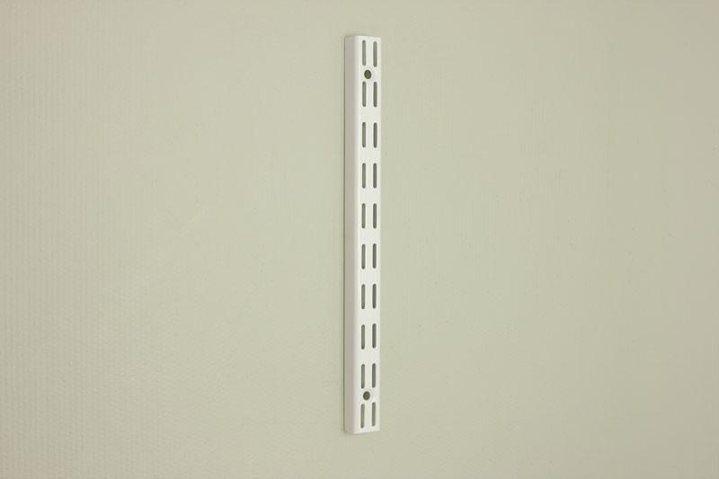 Настенная направляющая 31,6 см, белая, Elfa® - фото