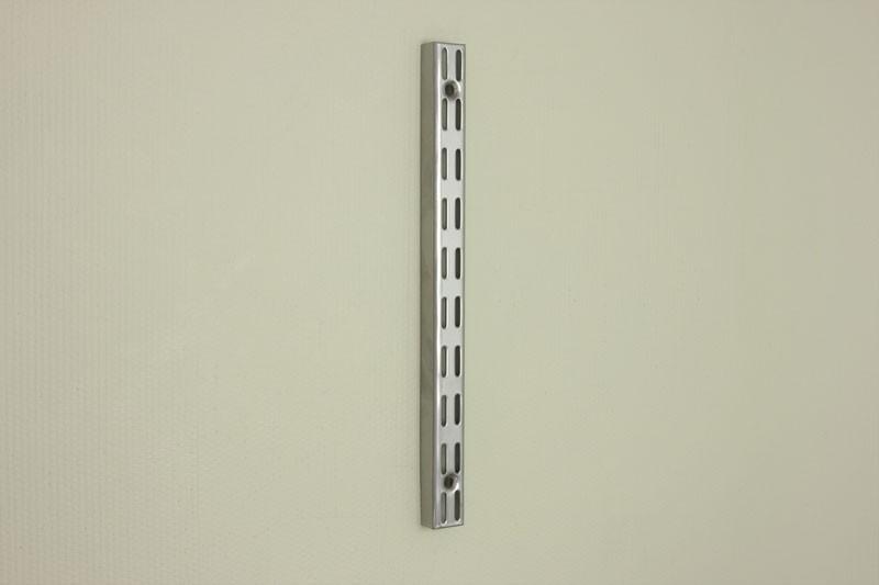 Настенная направляющая 31,6 см, платина, Elfa® - фото