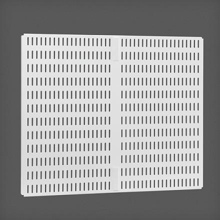 Перфорированная панель для направляющей цвет белый 45х38 см, Elfa® - фото