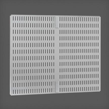 Перфорированная панель для направляющей цвет платина 45х38 см, Elfa® - фото