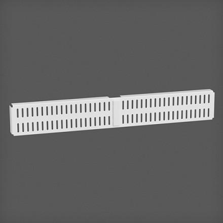 Перфорированная панель для направляющей цвет белый 45х6 см, Elfa® - фото