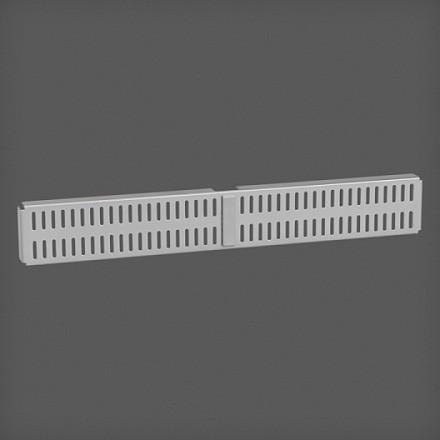 Перфорированная панель для направляющей цвет платина 45х6 см, Elfa® - фото