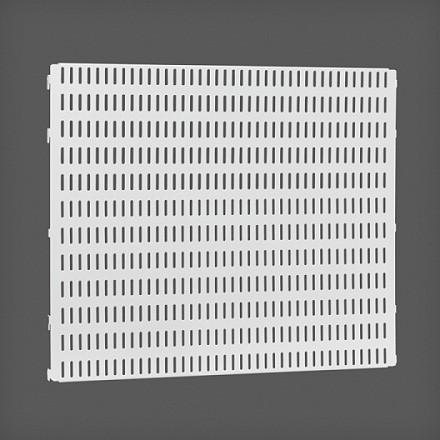 Перфорированная панель цвет белый 45х38 см, Elfa® - фото