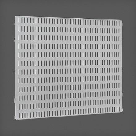 Перфорированная панель цвет платина 45х38 см, Elfa® - фото