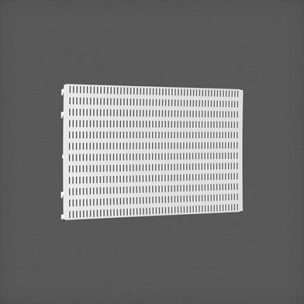 Перфорированная панель цвет белый 60х38 см, Elfa® - фото