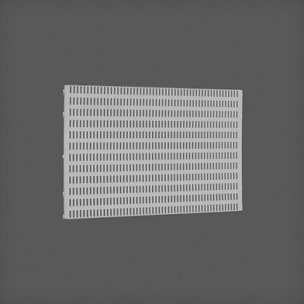 Перфорированная панель цвет платина 60х38 см, Elfa® - фото
