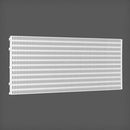 Перфорированная панель цвет белый 90х38 см, Elfa® - фото