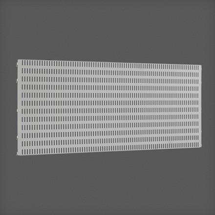 Перфорированная панель цвет платина 90х38 см, Elfa® - фото
