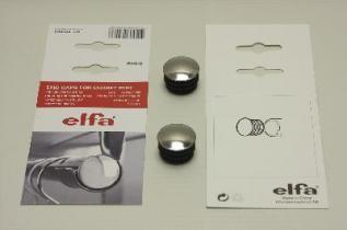 Торцевая пробка для штанги, хром, Elfa® - фото