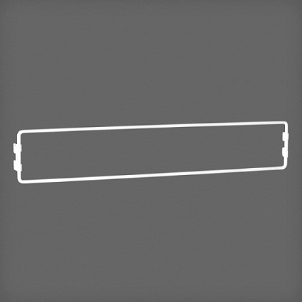 Рамка для журналов цвет белый, Elfa® - фото