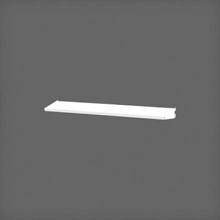 Полка-лоток 60х10 см цвет белый, Elfa® - фото
