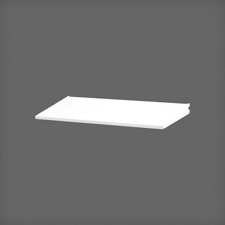Полка-лоток 60х25 см цвет белый, Elfa® - фото