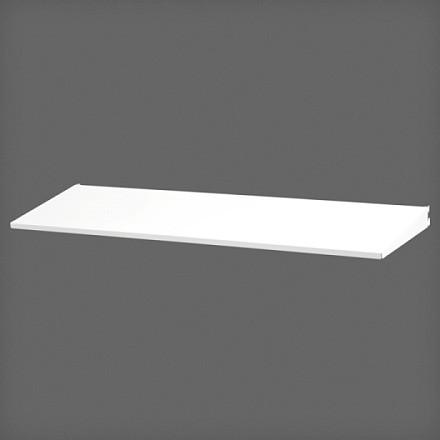 Полка-лоток 90х25 см цвет белый, Elfa® - фото