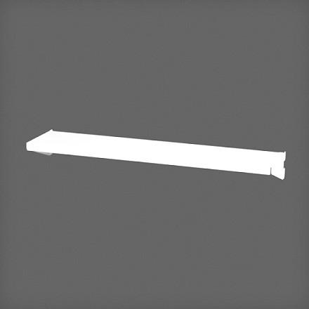 Полка-лоток 45х10 см цвет белый, Elfa® - фото
