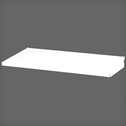 Полка-лоток 45х25 см цвет белый, Elfa® - фото