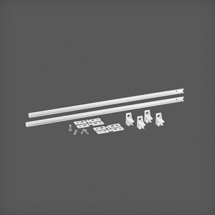 Универсальный рельс белый, Mini, Elfa® - фото