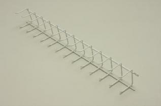 Вешалка для галстуков и ремней 44 (мини), белая, Elfa® - фото
