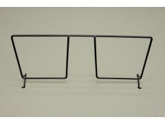 Разделитель проволочной полки 40 см, графит