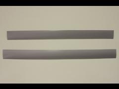 Декоративная вставка в несущий рельс, платина, 58 см