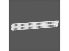 Перфорированная панель цвет белый 45х6 см