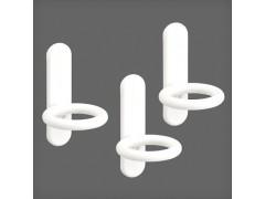 Крючок кольцевой для перфорированной панели (3 шт/уп) цвет белый