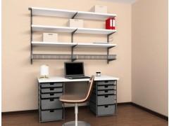 Домашний офис (платина/ДСП), арт. 102802