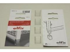 Ножки для стеллажа (4 шт./уп.), полупрозрачные