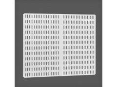 Перфорированная панель для направляющей цвет белый 45х38 см