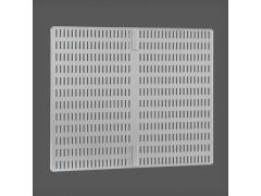 Перфорированная панель для направляющей цвет платина 45х38 см