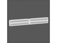 Перфорированная панель для направляющей цвет белый 45х6 см