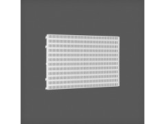 Перфорированная панель цвет белый 60х38 см