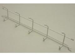 Вешалка с крючками (стеллаж-стена) 54, белая