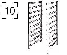 10 рельсов